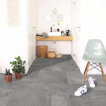 Berry-Alloc Pure Urban Stone Dark Grey Rigid Click LVT