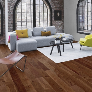 Boen Walnut Animoso Square Edge 138mm Engineered Wood Flooring