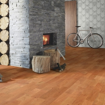 Boen Cherry 3-Strip Engineered Wood Flooring