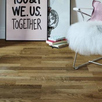 Boen Oak Alamo 3-Strip Natural Oil Engineered Wood Flooring