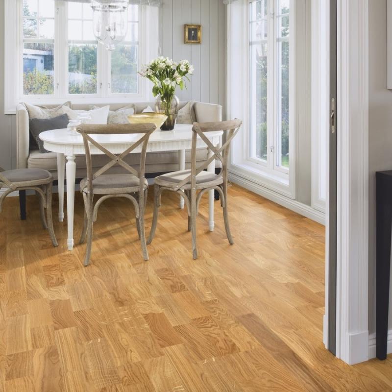 Boen Oak Andante 3 Strip Engineered Wood Flooring Save More At