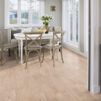 Boen Oak Andante white 3 Strip Engineered Wood Flooring