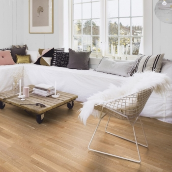 Boen Oak Old Grey 3-Strip Natural Oil Engineered Wood Flooring