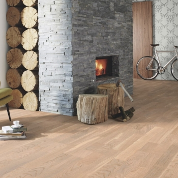 Boen Oak Concerto White 3-Strip Engineered Wood Flooring
