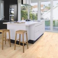 Boen Ash Andante White Pigmented 3 Strip Engineered Wood Flooring