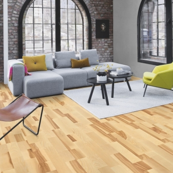 Boen Ash Marcato 3 Strip Engineered Wood Flooring