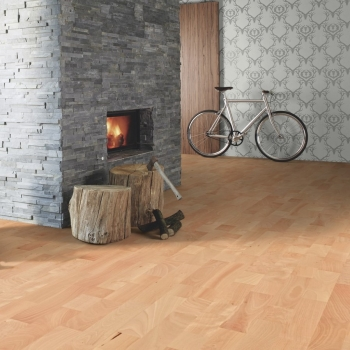 Boen Beech Animoso 3 Strip Engineered Wood Flooring