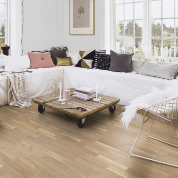Boen Oak Finale Live Pure 3-Strip Engineered Wood Flooring