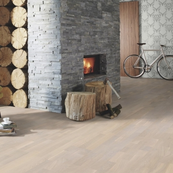 Boen Oak Concerto White Live Pure 3-Strip