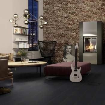 Boen Oak Ebony Live Pure 209mm Engineered Wood Flooring