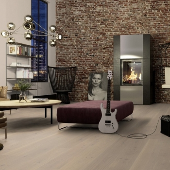 Boen Live Pure Ultra Matt Oak Warm Cotton 209mm Engineered Wood Flooring