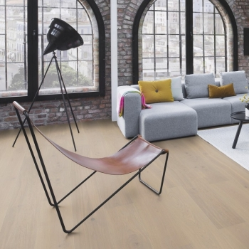 Boen Live Pure Oak Warm Cotton 138mm Engineered Wood Flooring