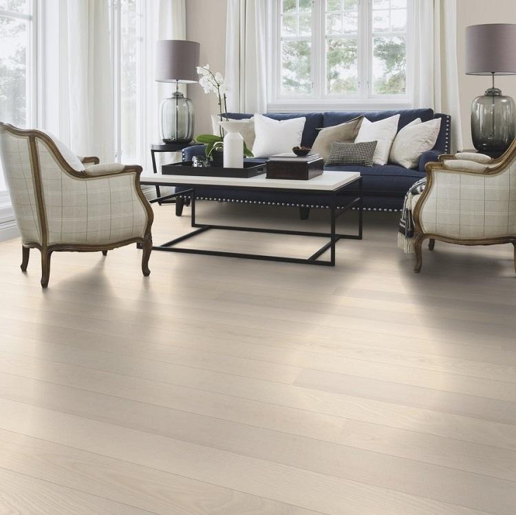 Boen Ash White Andante Live Pure 138mm Engineered Wood Flooring