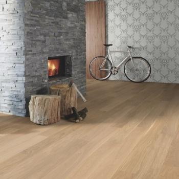 Boen Oak Andante Live Pure 138mm Engineered Wood Flooring