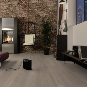 Boen Oak Grey Harmony Live Pure 138mm Engineered Wood Flooring