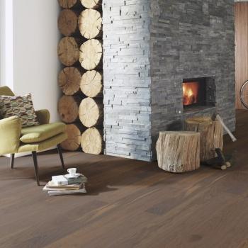 Boen Oak Smoked Andante Live Pure 138mm Engineered Wood Flooring