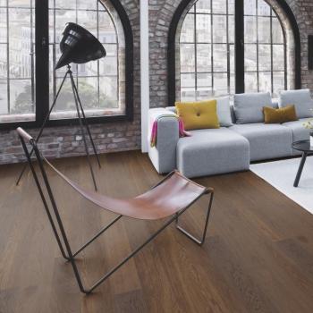 Boen Oak Smoked Andante Live Pure 209mm Engineered Wood Flooring