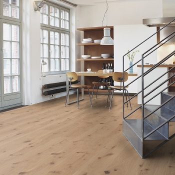 Boen Oak Vivo Live Pure 209mm Engineered Wood Flooring