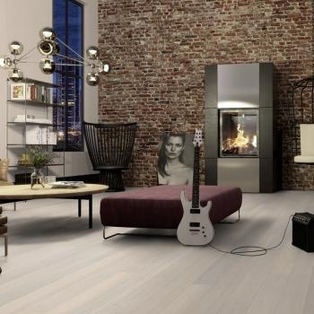 Boen Oak Andante White Live Pure 138mm Engineered Wood Flooring