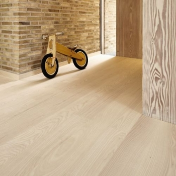 Boen Ash Andante White Square Edge 138mm Engineered Wood Flooring