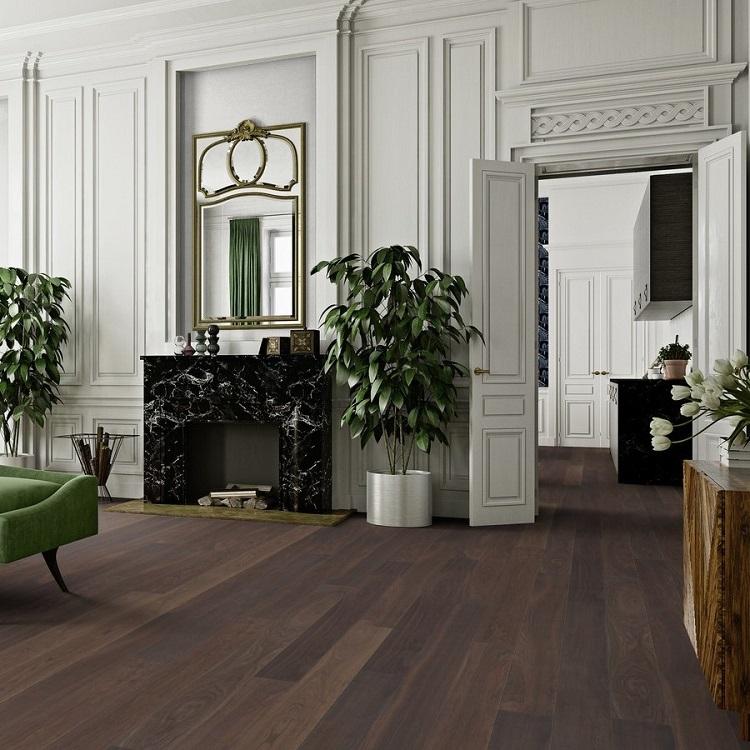 Boen Stonewashed Oak Stone 138mm Engineered Wood Flooring