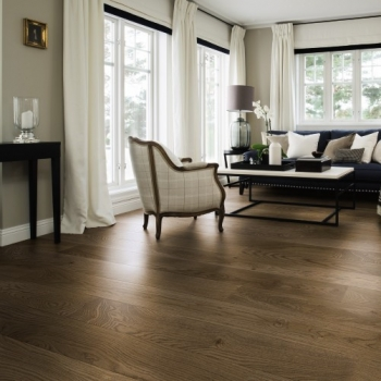 Boen Stonewash Oak Barrel 209mm Engineered Wood Flooring