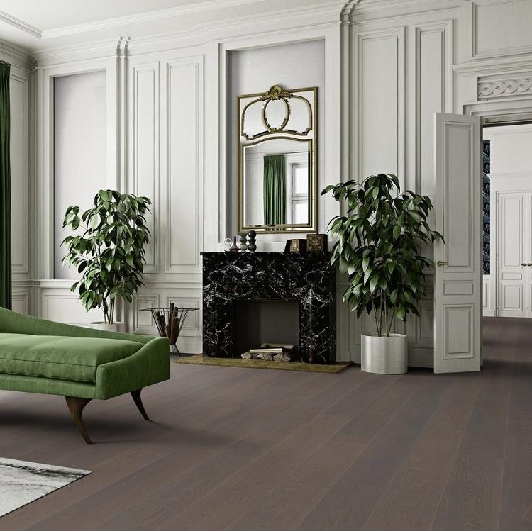 Boen Stonewashed Oak Grey Pepper 209mm Engineered Wood Flooring