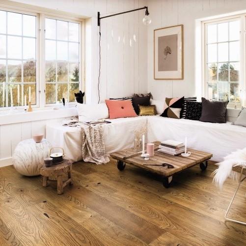 Boen Stonewashed Oak Alamo 209mm Engineered Wood Flooring