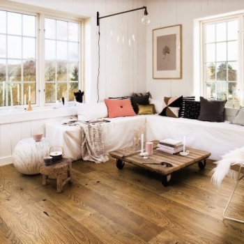 Boen Stonewashed Oak Alamo 209mm Engineered Wood Flooring