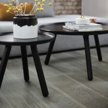 Boen Stonewashed Oak Graphite 138mm Engineered Wood Flooring