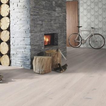 Boen Stonewash Oak White Stone 209mm Engineered Wood Flooring