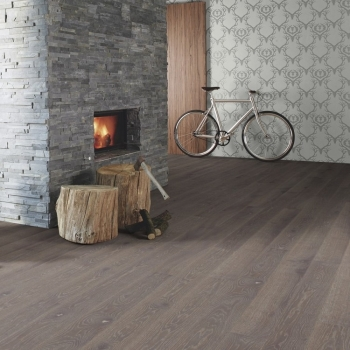 Boen Stonewashed Oak Graphite 209mm Engineered Wood Flooring