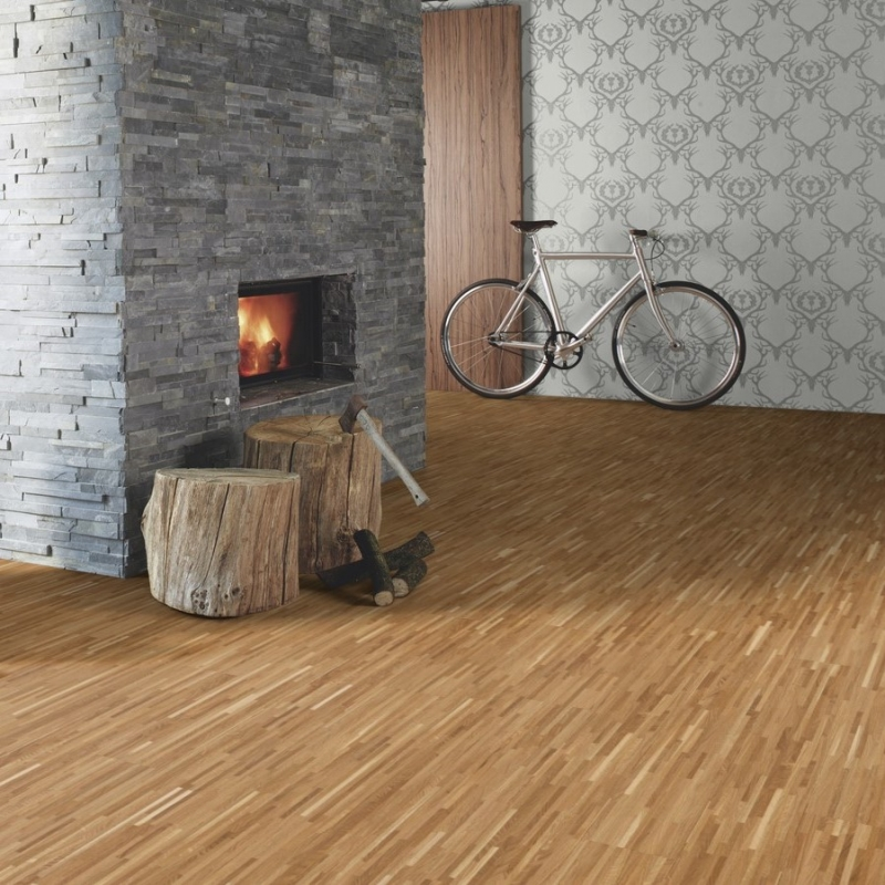Boen Fineline Oak Engineered Wood Flooring Volume