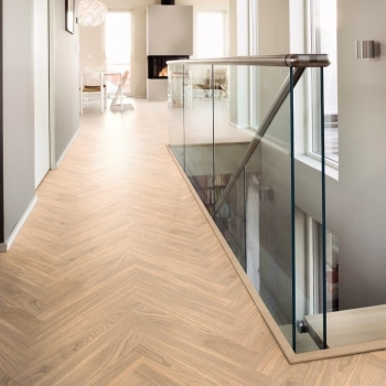 Boen Prestige Herringbone Oak White Nature Engineered Parquet