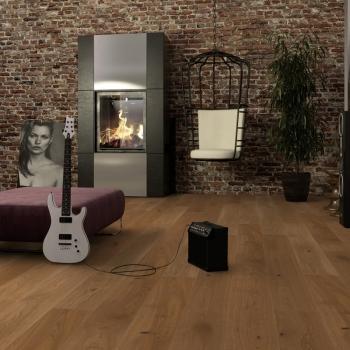 Boen Chalet Oak Honey Brushed 20mm Engineered Wood Flooring