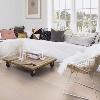 Boen Chalet Oak Pearl White Oiled 20mm Engineered Wood Flooring
