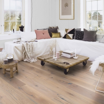 Boen Chaletino Oak Vintage White Handcrafted Engineered Wood Flooring