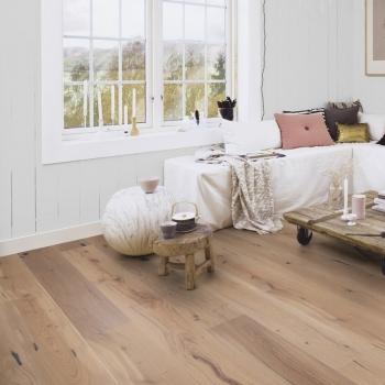 Boen Handcrafted Oak Expressivo White Oiled 209mm Engineered Wood Flooring