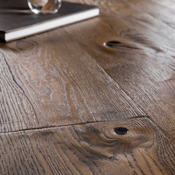 Boen Chaletino Oak Antique Brown Handcrafted Engineered Wood Flooring