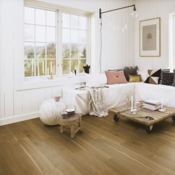 Boen Stonewashed Oak Honey 209mm Engineered Wood Flooring