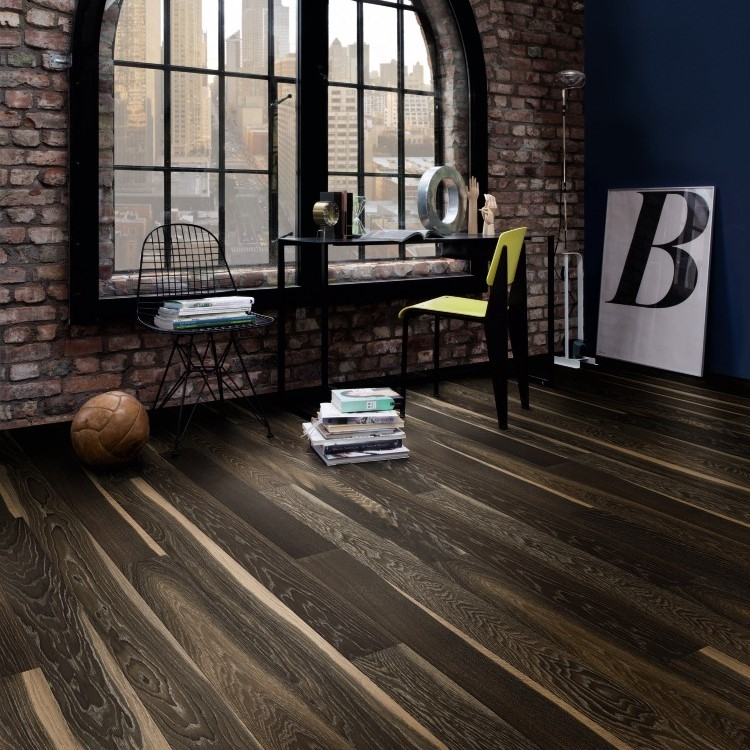 Boen Stonewashed Oak Lava 138mm Engineered Wood Flooring