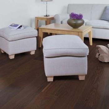 Boen Smoked Oak Andante Bevelled 209mm Engineered Wood Flooring
