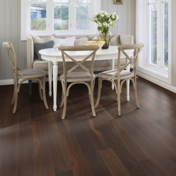 Boen Oak Smoked Andante Bevelled 138mm Engineered Wood Flooring