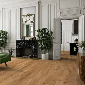Boen Oak Rustic Bevelled 138mm Matt Lacquer Engineered Wood Flooring