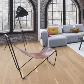 Boen Oak Andante White Stained 181mm Engineered Wood Flooring