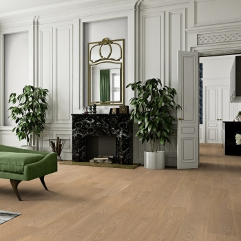 Boen Oak Andante White Stained 209mm Engineered Wood Flooring