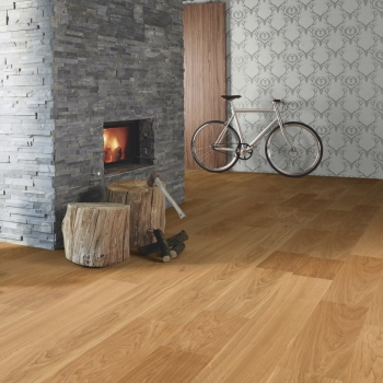 Boen Oak Andante Bevelled 209mm Engineered Wood Flooring