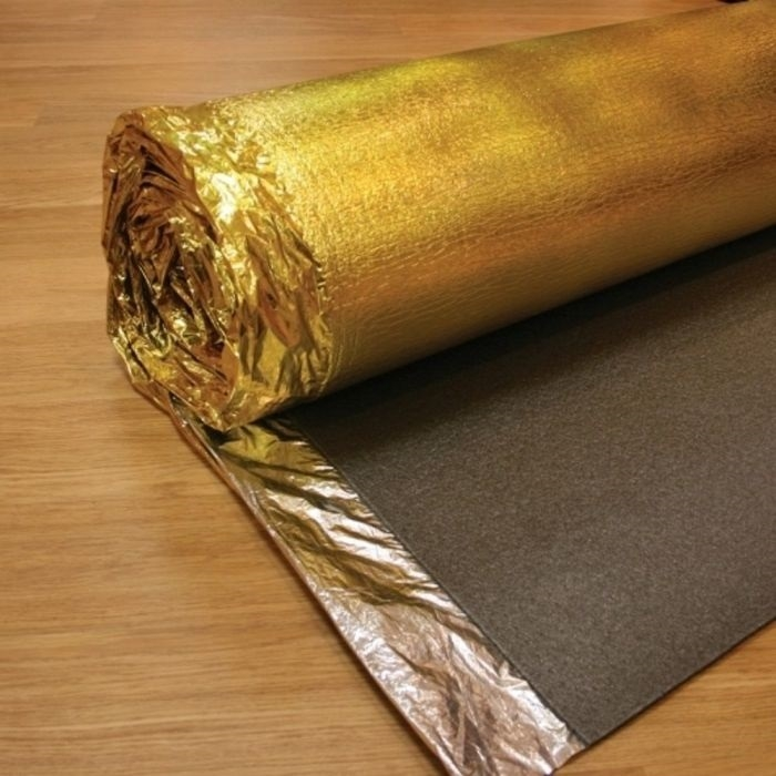 Elka Comfort Underlay with moisture barrier. 5mm thickness. 15m² Roll