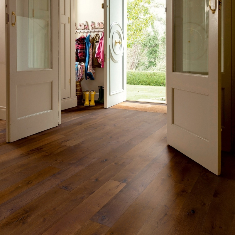 Elka Copper Oak Brushed And Oiled Rustic 20mm