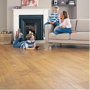 Elka Golden Distressed Oak Solid Wood flooring